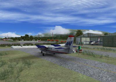 MAF airplane facility
